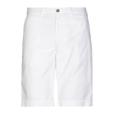 フォーティーウエフト 40WEFT バミューダパンツ ホワイト 58 コットン 100% バミューダパンツ