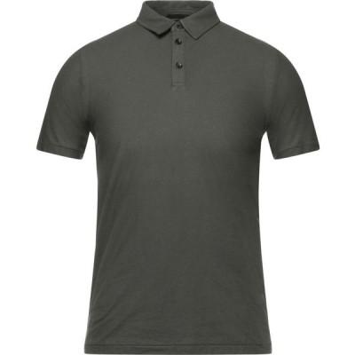 ロベルトコリーナ ROBERTO COLLINA メンズ ポロシャツ トップス Polo Shirt Military green