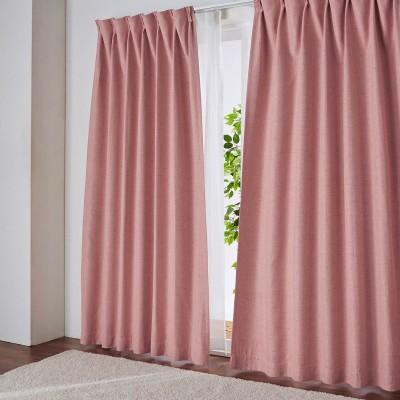 杢調の風合いある遮光・遮熱カーテン