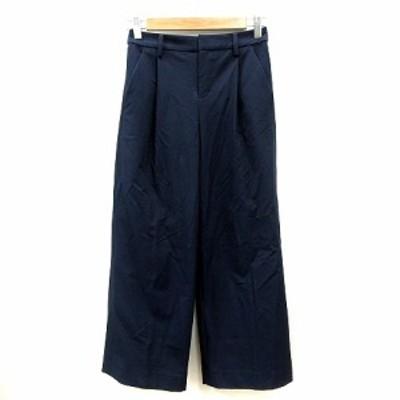 【中古】バンヤードストーム BARNYARDSTORM パンツ スラックス ワイド 0 紺 ネイビー /MN レディース