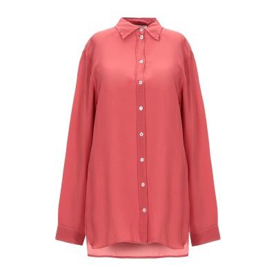 OTTOD'AME シャツ 赤茶色 46 シルク 100% シャツ