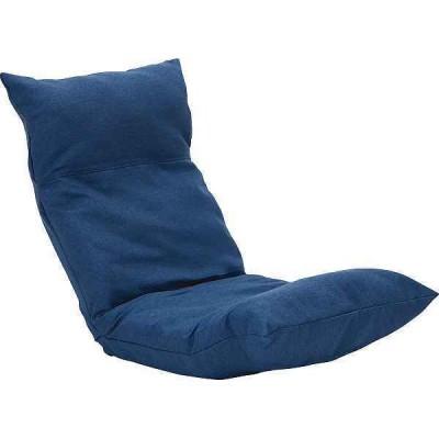 【送料込み/直送】ウェーブチェアEX≪ブルー≫〈ウェーブEX BL〉 座椅子/ [WーF](co)cg-1553118
