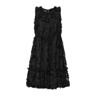 BOUTIQUE MOSCHINO ミニワンピース&ドレス ブラック 38 ポリエステル 100% ミニワンピース&ドレス