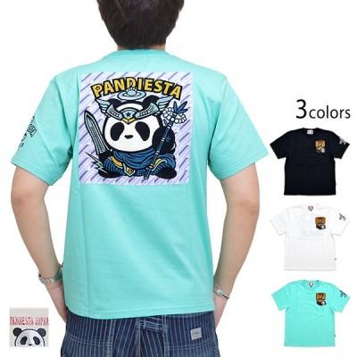 キラキラシール半袖Tシャツ PANDIESTA JAPAN 5581851 パンディエスタジャパン パンダ ビックリマン