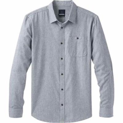 プラーナ Prana メンズ シャツ トップス Jaffra LS Shirt Nautical