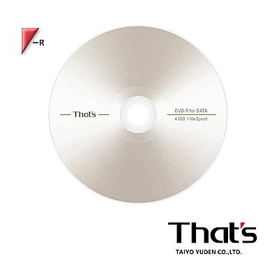 That's 太陽誘電 16X DVD-R 10片盒裝