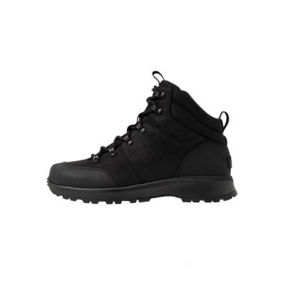 アグ ブーツ&レインブーツ メンズ シューズ EMMETT BOOT MID - Lace-up ankle boots - black