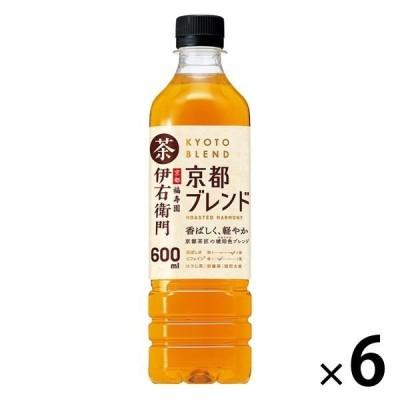 サントリー 伊右衛門 京都ブレンド 600ml 1セット(6本)