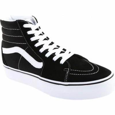 ヴァンズ Vans メンズ スニーカー ハイカット シューズ・靴 SK8-Hi Platform 2.0 High Top Black Canvas/True White