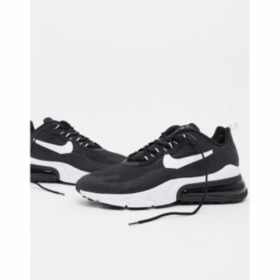 ナイキ Nike メンズ スニーカー エアマックス 270 シューズ・靴 Air Max 270 React Trainers In Black
