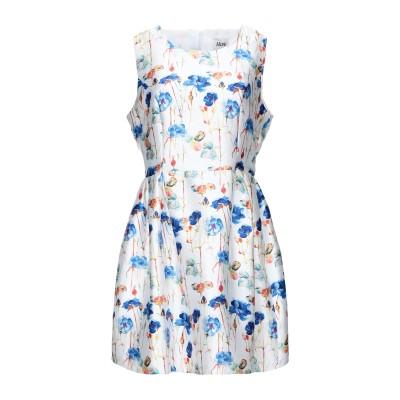 ALLURE ミニワンピース&ドレス ホワイト 10 ポリエステル 100% ミニワンピース&ドレス