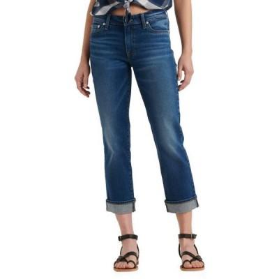 ラッキーブランド ユニセックス パンツ Mid-Rise Sweet Straight Ankle Jeans in Finja