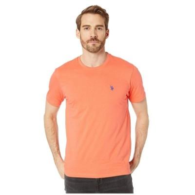 ユーエスポロアッスン U.S. POLO ASSN. メンズ Tシャツ トップス Crew Neck Small Pony T-Shirt Boca Coral