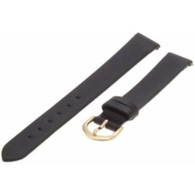 腕時計 タイメックス レディース Timex Women's Q7B835 Calfskin 14mm Black Replacement Watchband