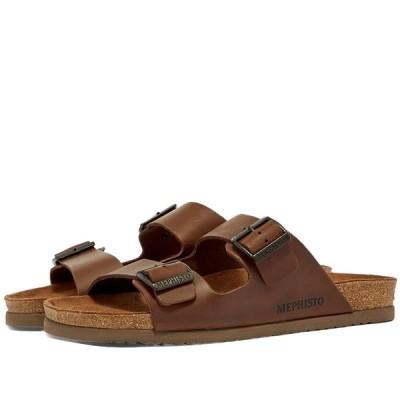メフィスト Mephisto メンズ サンダル シューズ・靴 Nerio Dark Brown