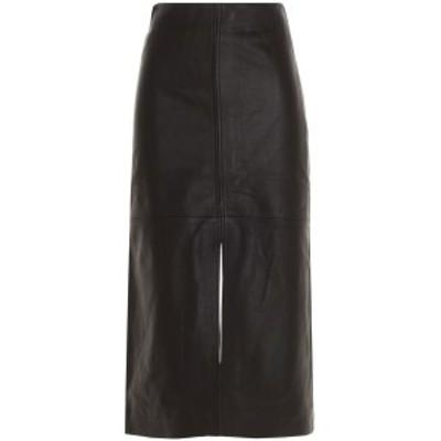 CO/コー Brown Slit leather skirt レディース 秋冬2020 3556SPBNBROWN ju
