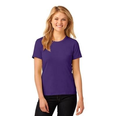レディース 衣類 トップス Anvil Women's Lightweight Silhouette Crewneck T-Shirt グラフィックティー