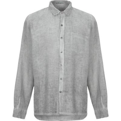 クロスリー CROSSLEY メンズ シャツ トップス Linen Shirt Grey