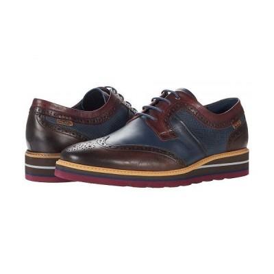 Pikolinos メンズ 男性用 シューズ 靴 オックスフォード 紳士靴 通勤靴 Durcal M8P-4009C1 - Olmo