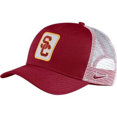 ナイキ メンズ 帽子 アクセサリー Nike Men's USC Trojans Cardinal Classic99 Trucker Hat