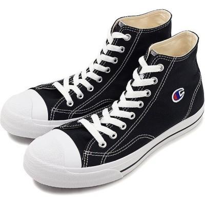 チャンピオンChampion センターコートハイカットCENTER COURT HI メンズ レディース スニーカー 靴 BLACK ブラック系  CP LC006SS19