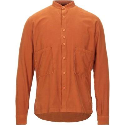 コストメイン COSTUMEIN メンズ シャツ トップス solid color shirt Rust