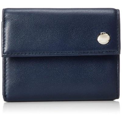 [タケオキクチ] ムスク小物 BOX型小銭入れ付き 三つ折り財布 744604 コン