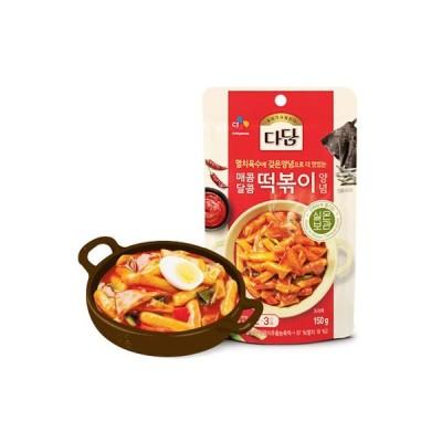 『CJ』タダムトッポギソース(150g) トッポッキ たれ ヤンニョム 韓国調味料 韓国料理 韓国食材 韓国食品