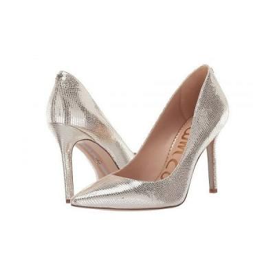 Sam Edelman サムエデルマン レディース 女性用 シューズ 靴 ヒール Hazel - Molten Gold New Glamour Lizard Print Leather