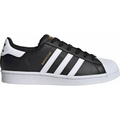 アディダス レディース スニーカー シューズ adidas Originals Women's Superstar Shoes Black/White/Gold