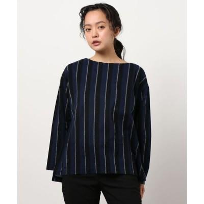 tシャツ Tシャツ (S)ストライプラッセル/カットソー