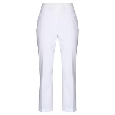 ツインセット シモーナ バルビエリ TWINSET パンツ ホワイト 38 コットン 96% / ポリウレタン 4% / ナイロン パンツ