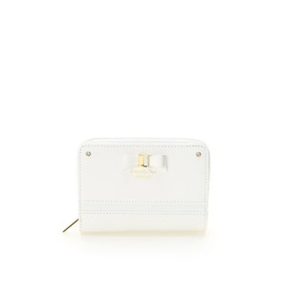 Xmasリボン&ライン 折財布