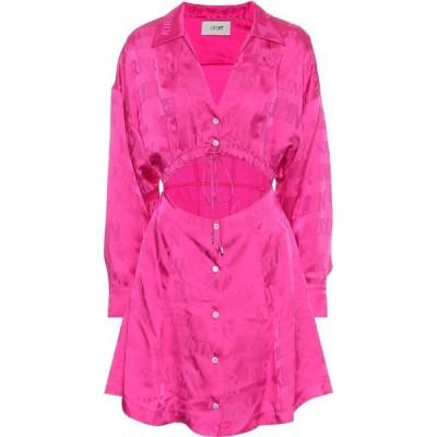 キリン Kirin レディース ワンピース ワンピース・ドレス satin minidress Pink