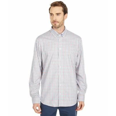 ジョニーオー シャツ トップス メンズ Curtis Button Down Shirt Light Gray