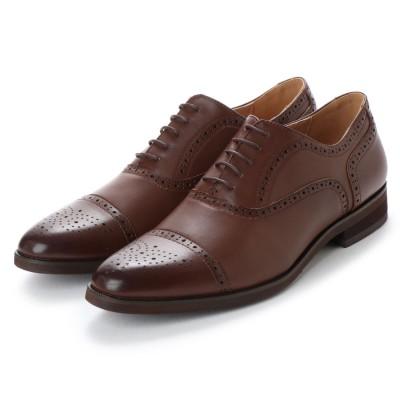 ミッドランドフットウェアーズ Midland Foot Wears midland footwears 0003 外羽根ハーフブローグ (ミドルブラウン)