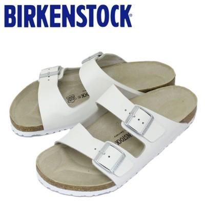 BIRKENSTOCK (ビルケンシュトック) ARIZONA (アリゾナ) スムースレザー サンダル レギュラー(幅広) WHITE(ホワイト) BI034