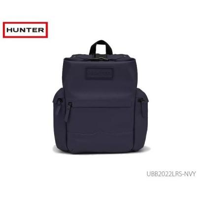 ハンター HUNTER ラバーコーティングレザーバックパック 国内正規品  メンズ レディース バッグ かばん ネイビー UBB2022LRS NVY