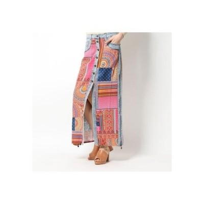 デシグアル Desigual スカート GRECIA (ピンク/レッド)