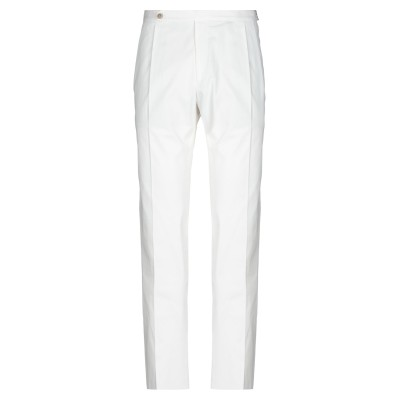 GTA IL PANTALONE パンツ ホワイト 52 コットン 96% / ポリウレタン 4% パンツ