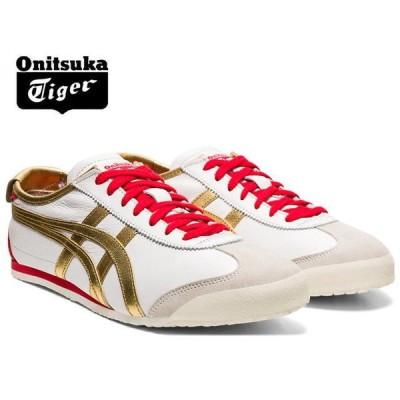 オニツカタイガー メキシコ66 スニーカー メンズ Onitsuka Tiger MEXICO 66 102 WHITE/PURE GOLD1183A788-102