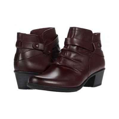 Earth Origins レディース 女性用 シューズ 靴 ブーツ アンクル ショートブーツ Marietta Michelle - Merlot