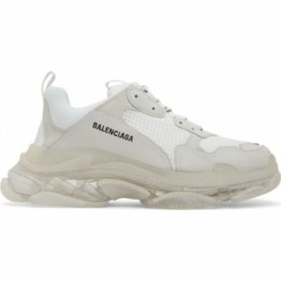 バレンシアガ Balenciaga メンズ スニーカー シューズ・靴 white triple s sneakers White