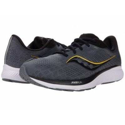Saucony サッカニー メンズ 男性用 シューズ 靴 スニーカー 運動靴 Guide 14 Charcoal/Vizigold【送料無料】