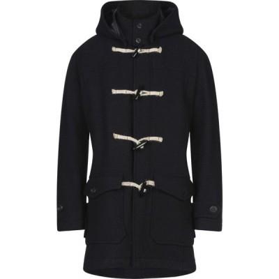 メッサジェリエ MESSAGERIE メンズ コート アウター coat Dark blue