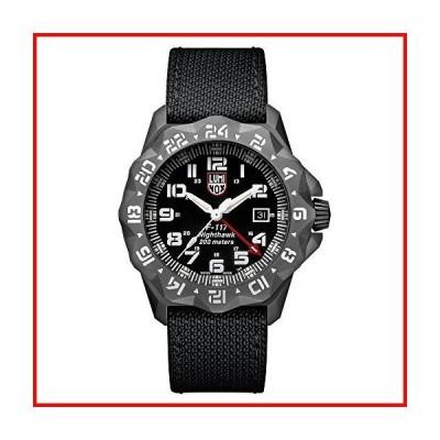 Luminox メンズ腕時計 F-117 ナイトホーク 6421:45mm グレーケース ブラックディスプレイ 200M 防水