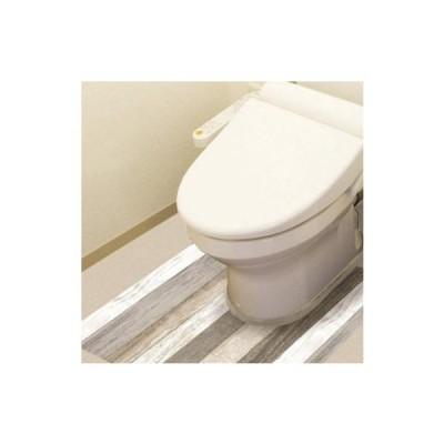 防水模様替えシート トイレ床用 90cm×80cm Gy(グレー) BKTSW-9080  キャンセル返品不可 他の商品との同梱総計3個まで