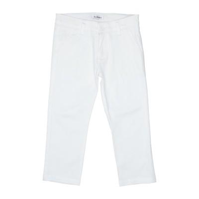 JOHN Q パンツ ホワイト 24 コットン 97% / ポリウレタン 3% パンツ