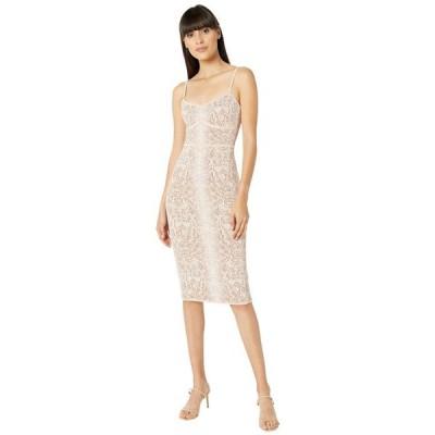 ビーシービージーマックスアズリア レディース ワンピース トップス Python Knit Dress