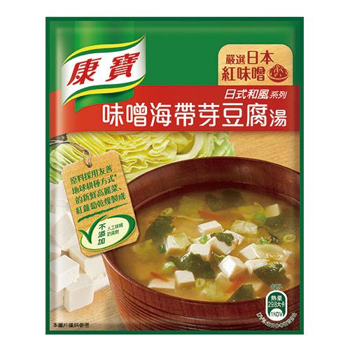 康寶濃湯味噌海帶芽豆腐湯34.7g